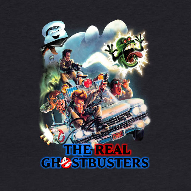Real Ghostbusters - painting