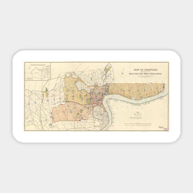 Vintage Map of Shanghai China (1918) on xinjiang china map, guangdong china map, dalian china map, manchuria map, seoul map, yantai china map, shanghai on map, jakarta map, xingang china map, japan map, china city map, delhi india map, east china map, wuxi china map, east asia map, nanning china map, nanchang china map, nanjing china map, calcutta map, jiangsu province china map,