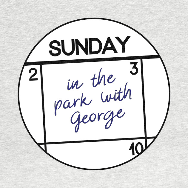 Sunday: in the park with George