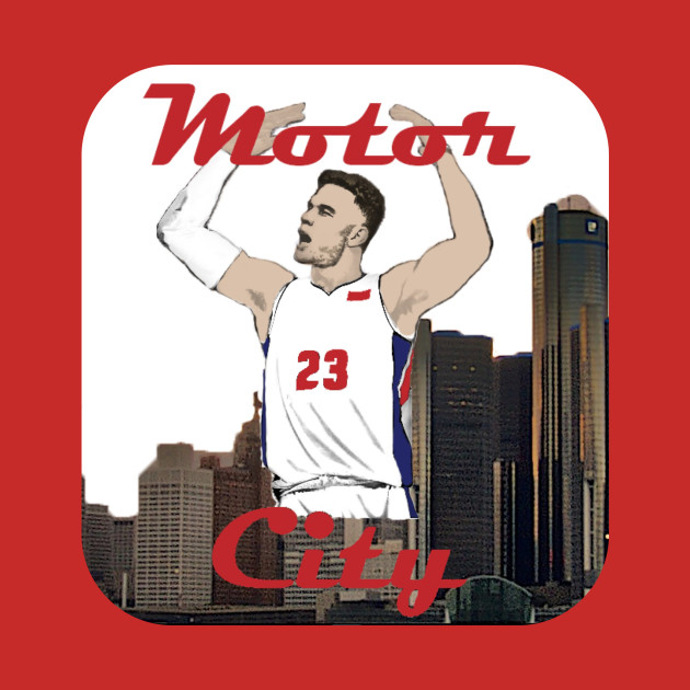 new concept bf7f3 7a5aa Blake Griffin Motor City Detroit Pistons