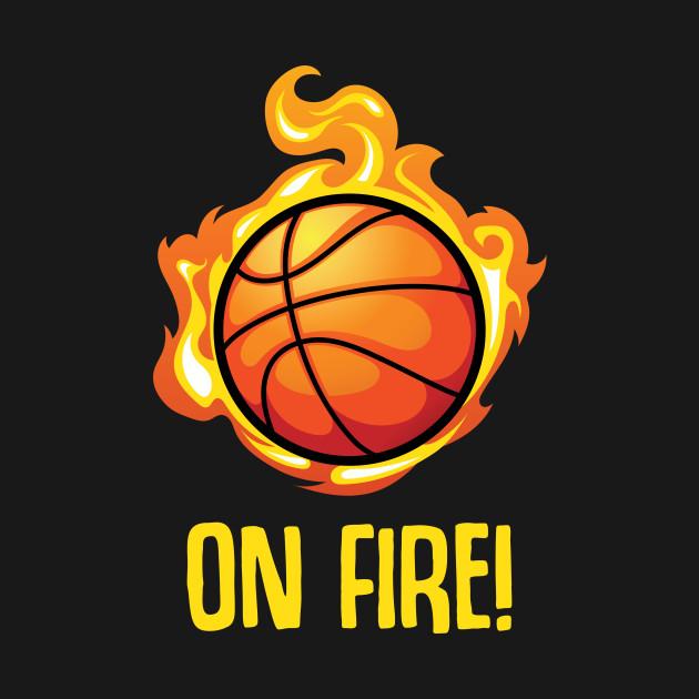 Basketball fire ball