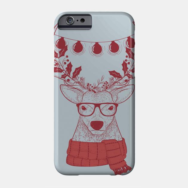 Hipster christmas shirt | reindeer christmas t-shirt | christmas ...