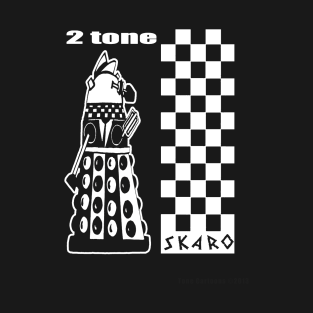 Two Tone Dalek t-shirts