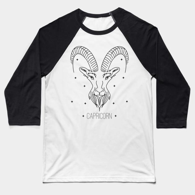 04c1ca81 Capricorn design - Capricorn - Baseball T-Shirt | TeePublic