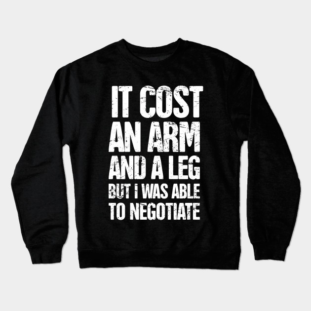 896e3742a Funny Amputated Missing Arm Amputee Gift - Arm Amputee - Crewneck ...