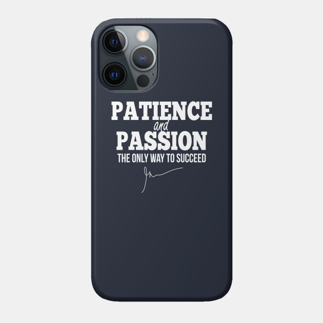 Patience and passion (White)   Garyvee