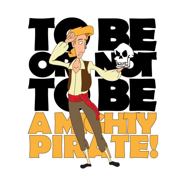 I'm Guybrush Threepwood, mighty pirate!