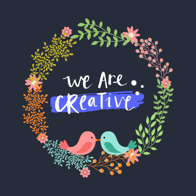 We are creative , 1