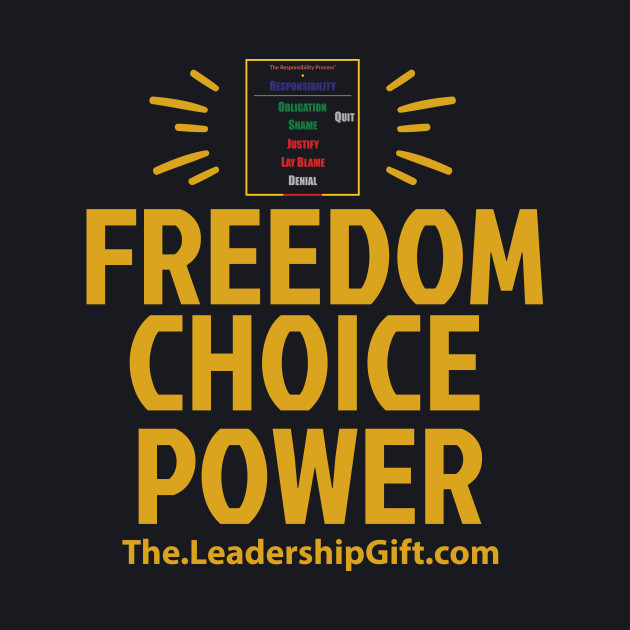 Freedom Choice Power