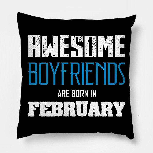 Boyfriend Birthday Shirt Pillow