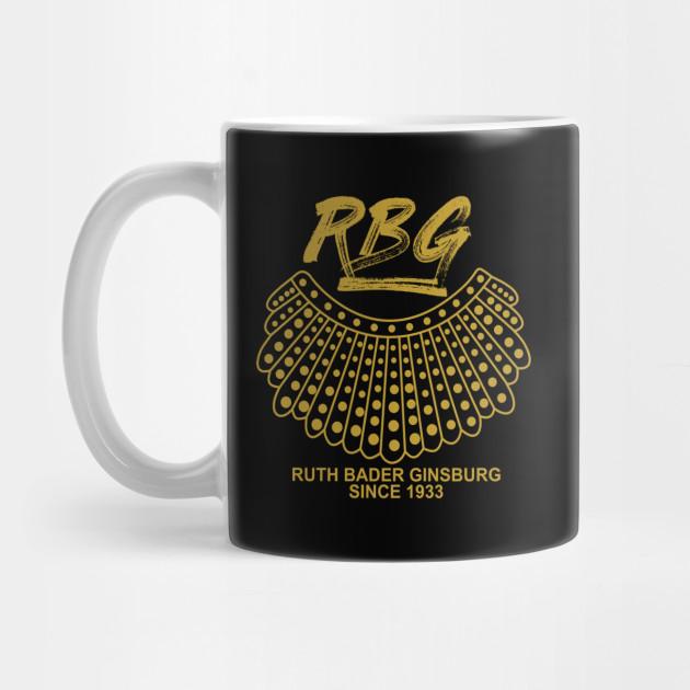 600efd79301 Notorious RBG (Ruth Bader Ginsburg) - Rbg - Mug | TeePublic