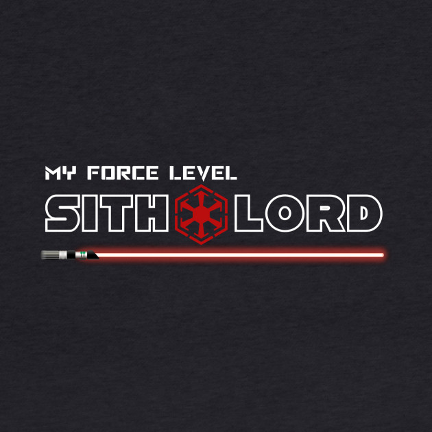 My Force Level: Sith Lord