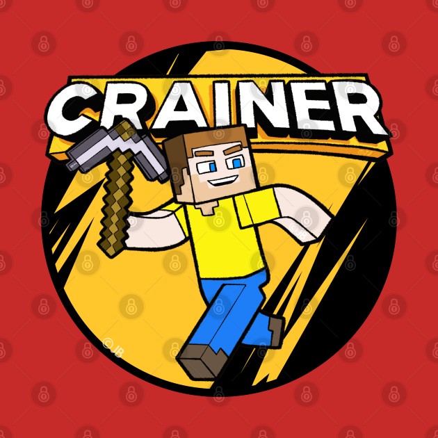 Cartoon of Crainer with Pickaxe