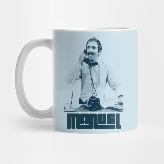 Manuel / Fawlty Towers Retro Fanart Design
