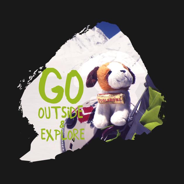 Go Outside & Explore - puppy