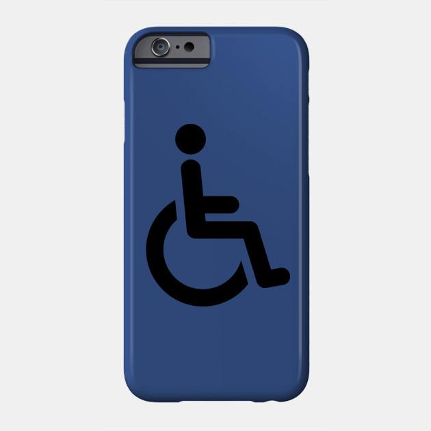 Handicap Symbol Handicap Phone Case Teepublic