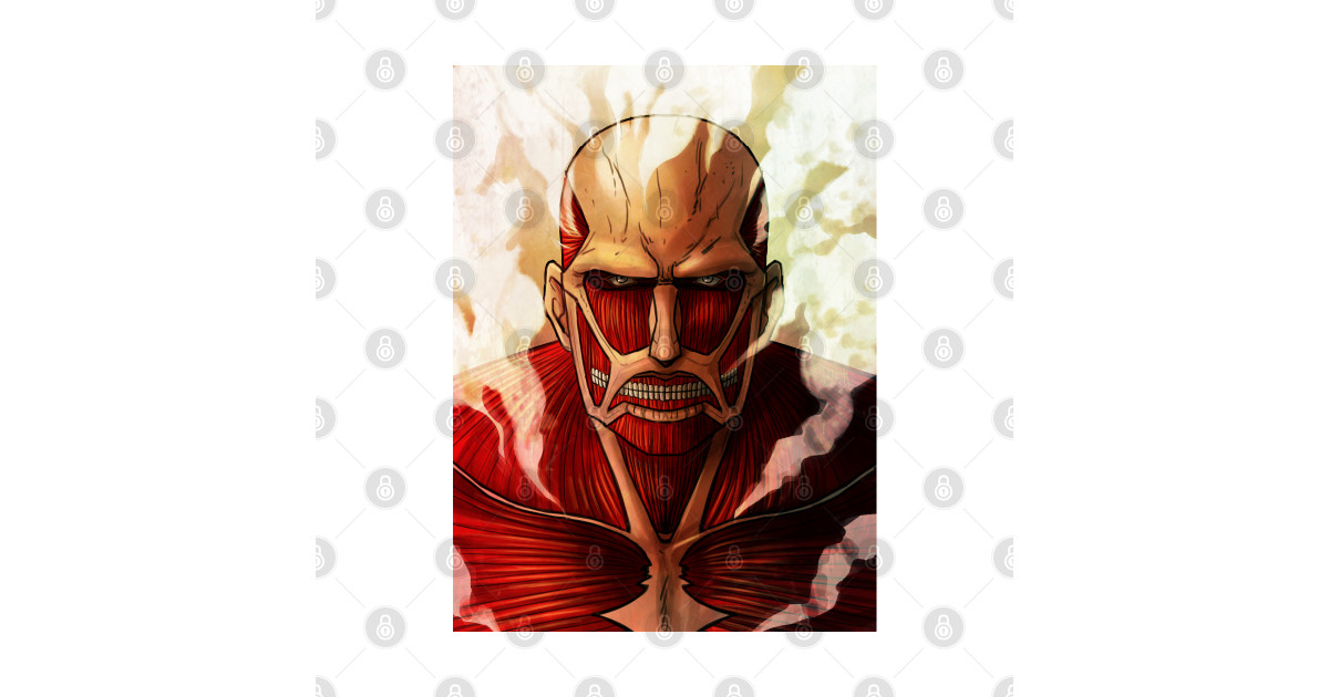 Colossal titan - Colossal Titan Attack On Titan - Tapestry ...