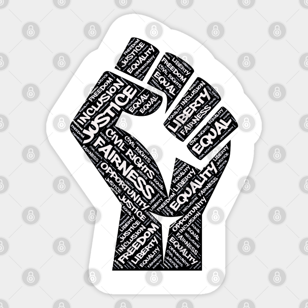 African American Human Rights Black History Month Civil Rights Equality Love Power Fist Women/'s Tank Top Black Lives Matter