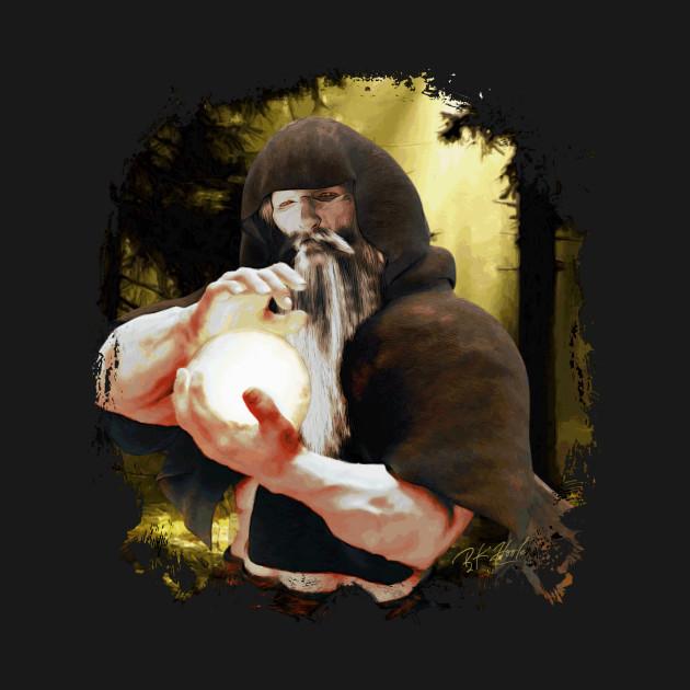 SORCERER Fantasy Art Print