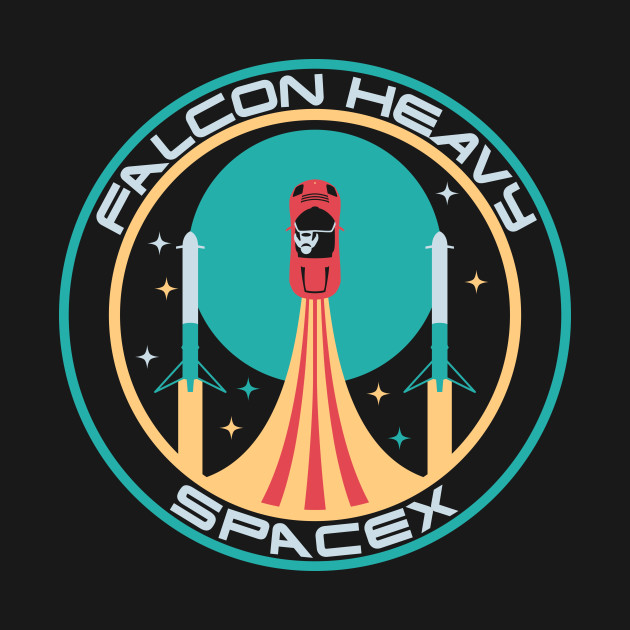 Heavy Falcon Space X Patch