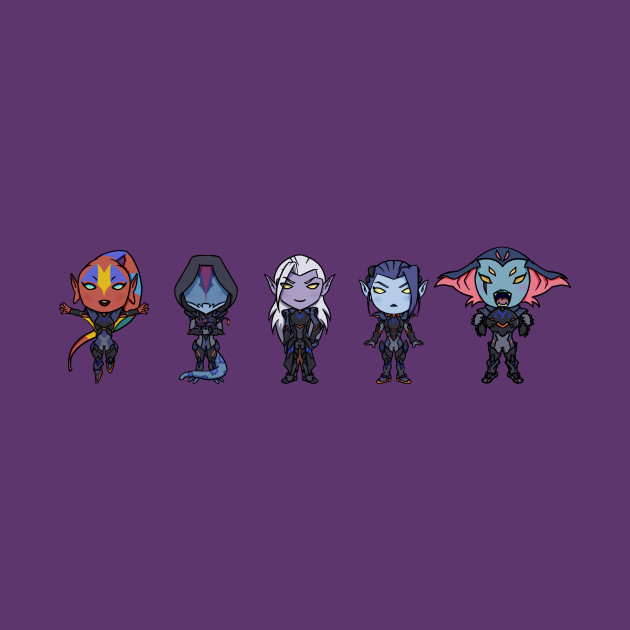 Prince Lotor and his Generals