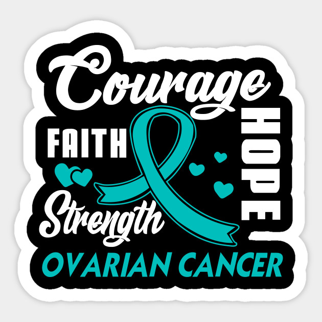 92e29fd89f1 Ovarian Cancer gifts Fight Wear Teal Ribbon Gifts - Ovarian Cancer ...