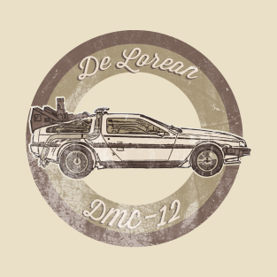 Back to the future driving school t-shirts