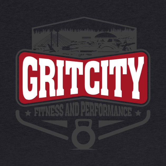 Grit City Fitness and Performance Small Logo Tee