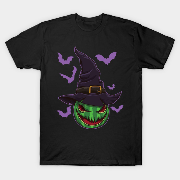 Halloween Watermelon Witch - Halloween Party T-Shirt