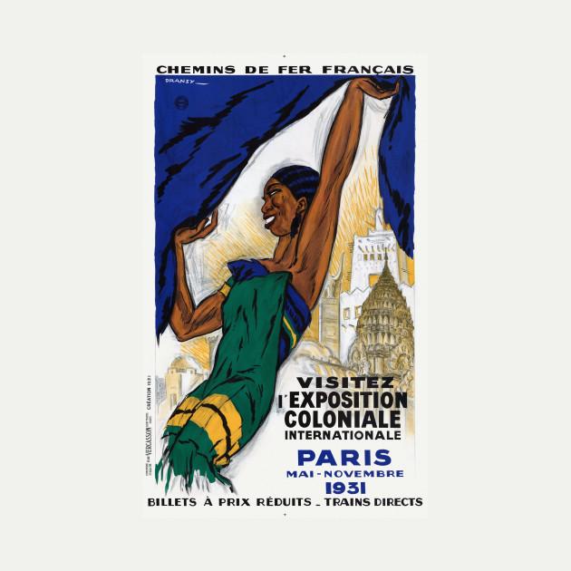 Exposition Paris 1931 France Vintage Wall Art