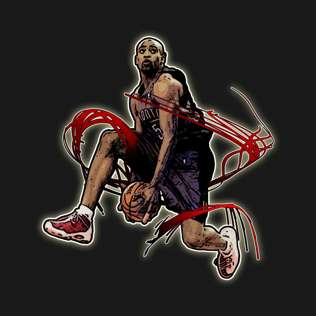 fb23a914e1b Vince Carter Slam Dunk - Vince Carter - T-Shirt | TeePublic