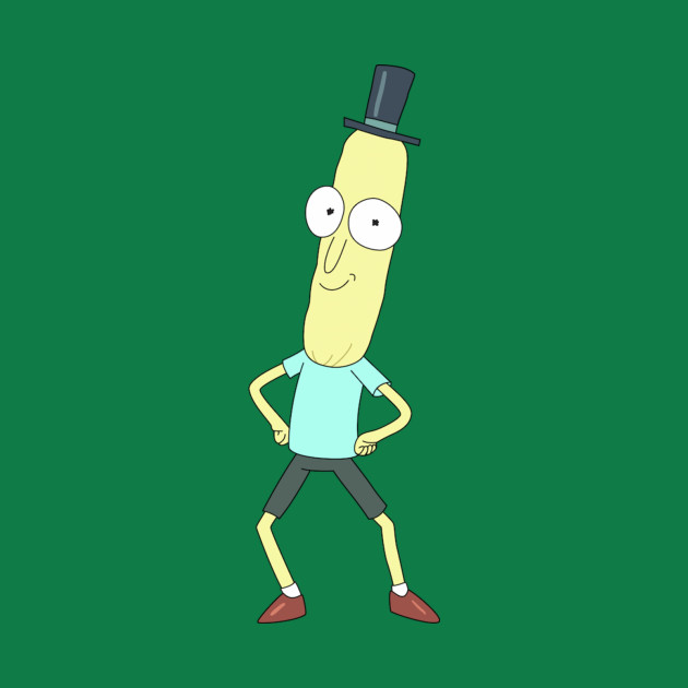 Rick and Morty Mr. Poopy Butthole