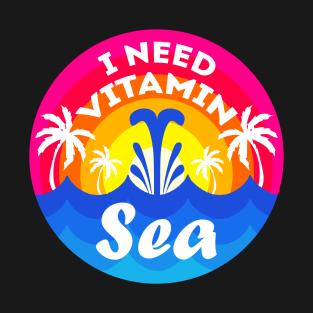 60c373189 I Nead Vitamin Sea Shirt Summer Vacation Ocean Beach Tshirt Gift Tee T-Shirt