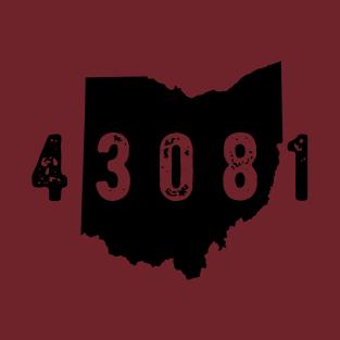 43081 zip code Columbus Ohio Westerville t-shirts