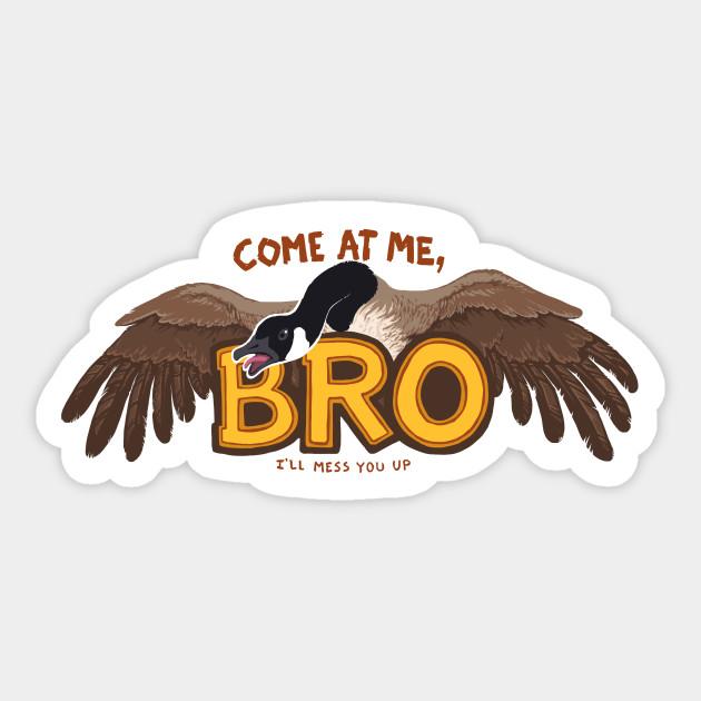 Come at me bro goose