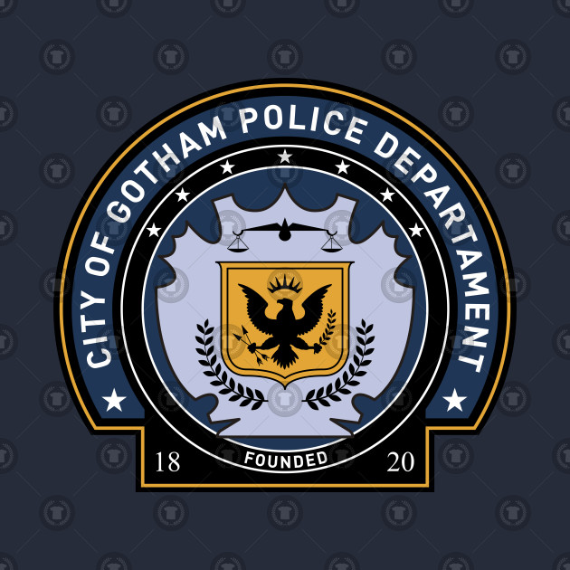 GOTHAM POLICE (the dark knight trilogy)