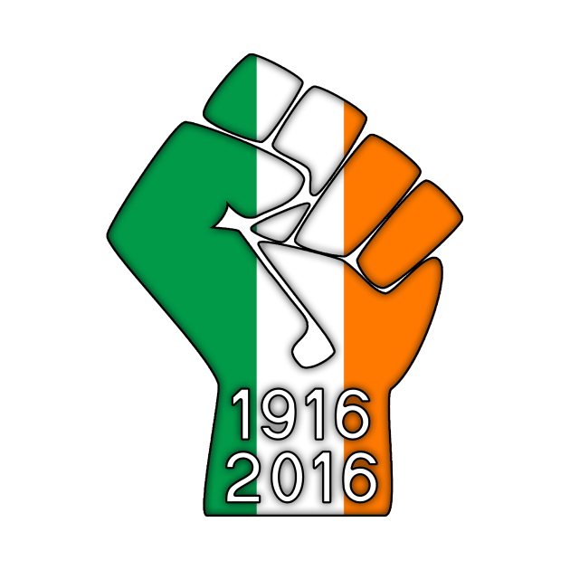 Ireland Fist 1916 Flag