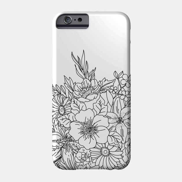best value 6af8a 72ff8 Elegant Hand drawn floral doodles design