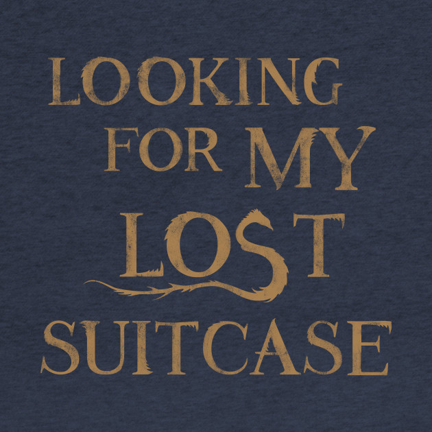 Fantastic Beasts Lost Suitcase
