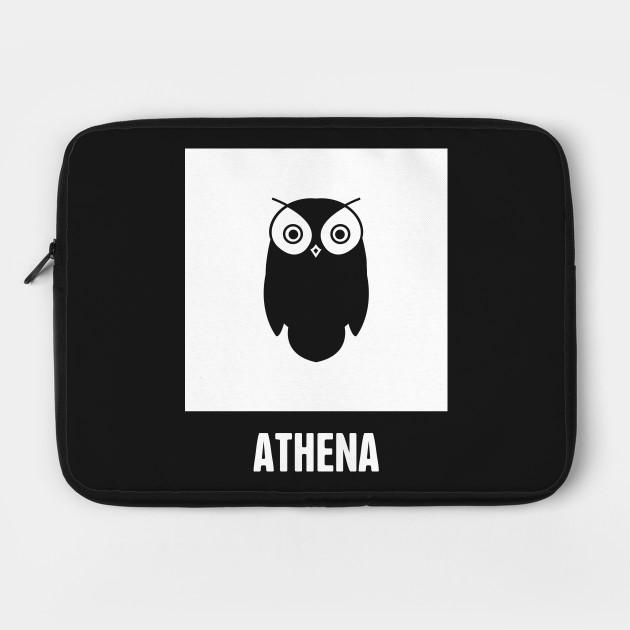 Athena Greek Mythology God Symbol Greek Mythology Laptop Case