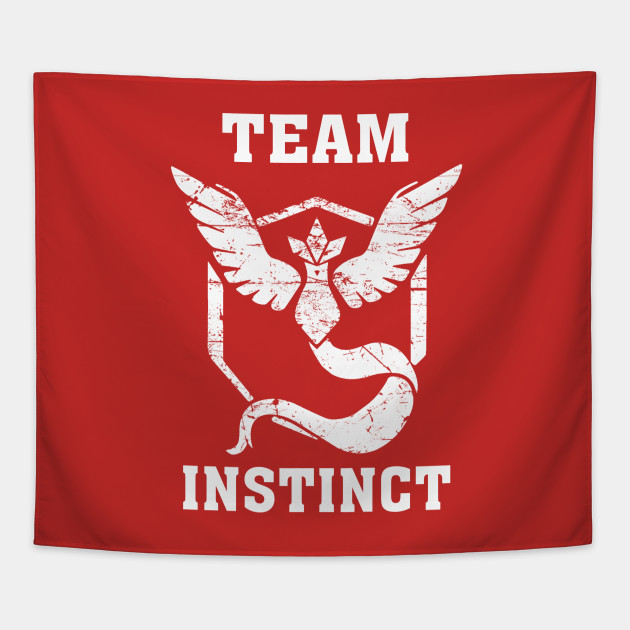 TEAM INSTINCT RED SHIRT - HOW TO PISS OFF EVERY TEAM AT ONCE