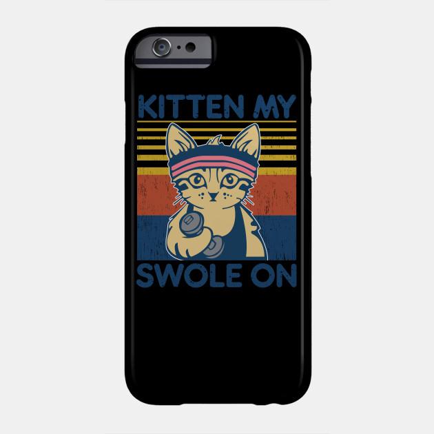 Kitten my swole on