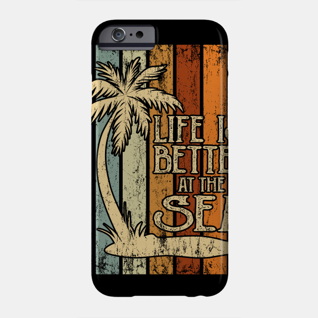 Life Is Better At The Sea Shirts With Saying Vacation Surfer