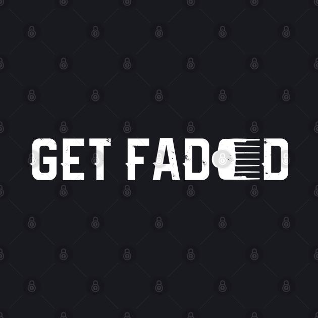 Get Faded Barber Haircut Fade Razor Trimmer Gift Men