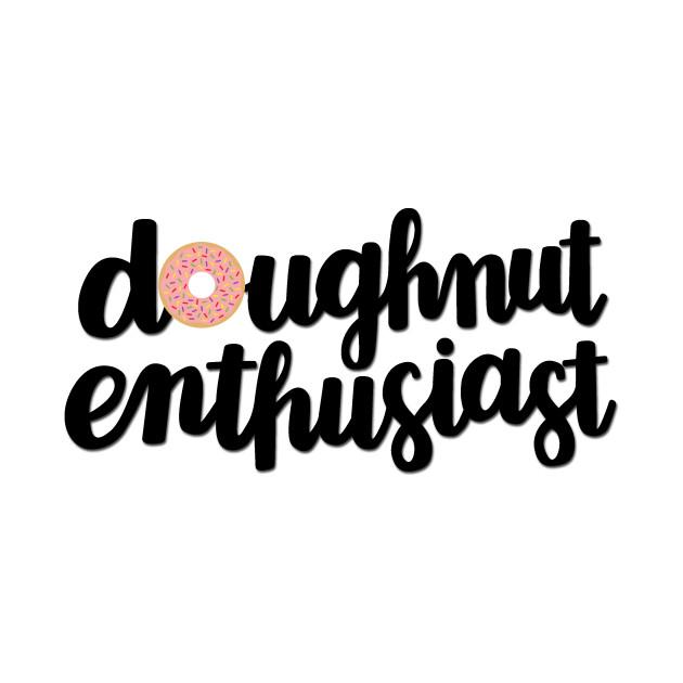 Doughnut Enthusiast Script (Pink)