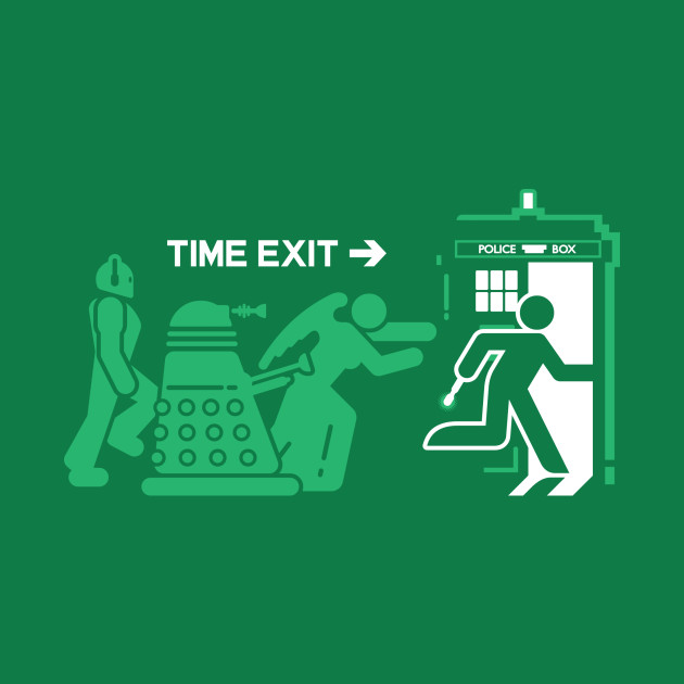 Time Exit - green