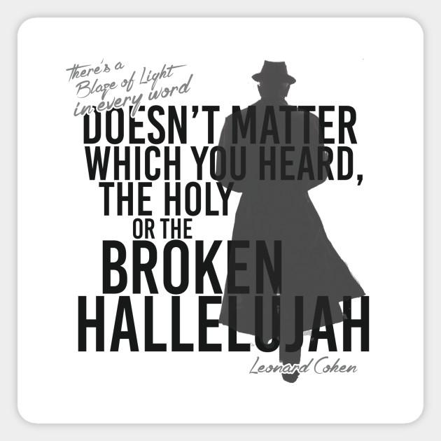 Hallelujah Christmas Lyrics Leonard Cohen.Leonard Cohen Hallelujah