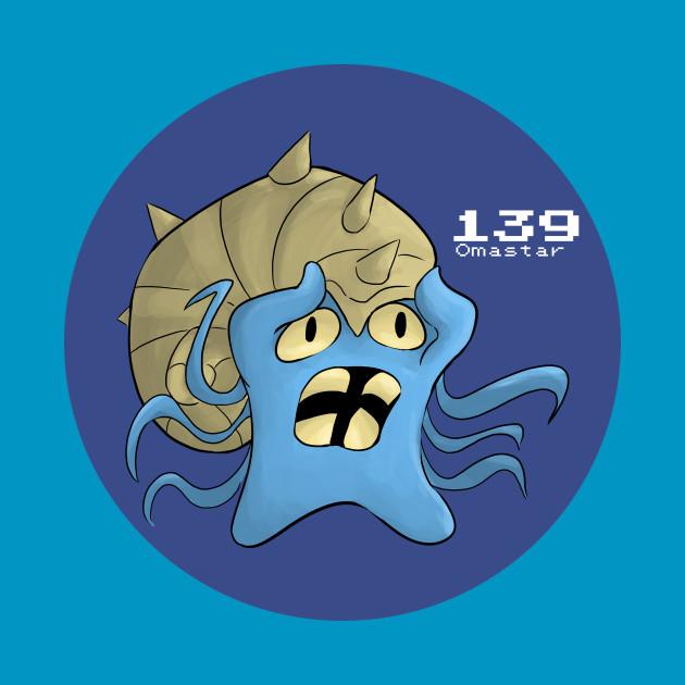 419004 Pokemon 139 Omastar