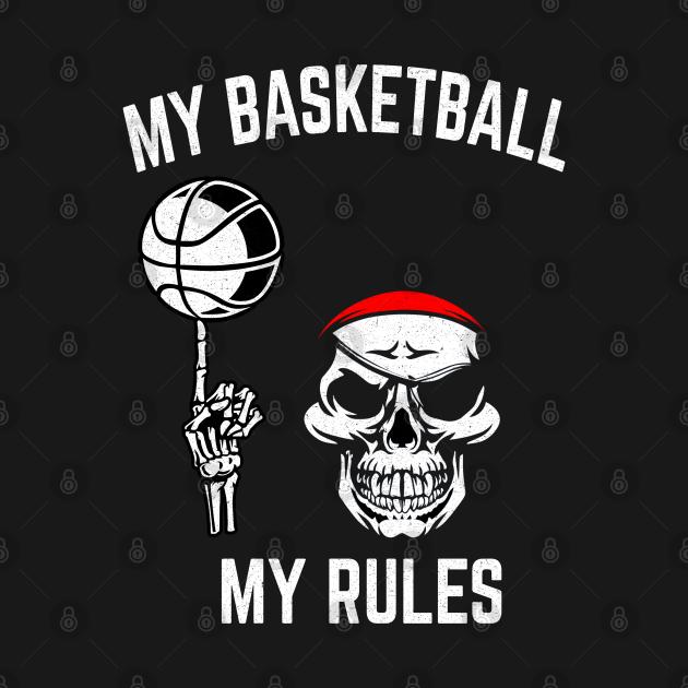 Basketball Skull Gift