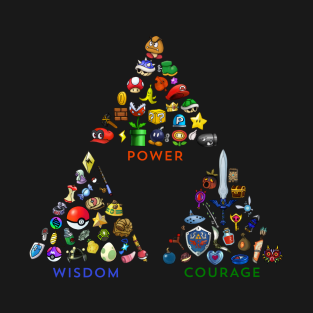 Triumvirate Triforce t-shirts